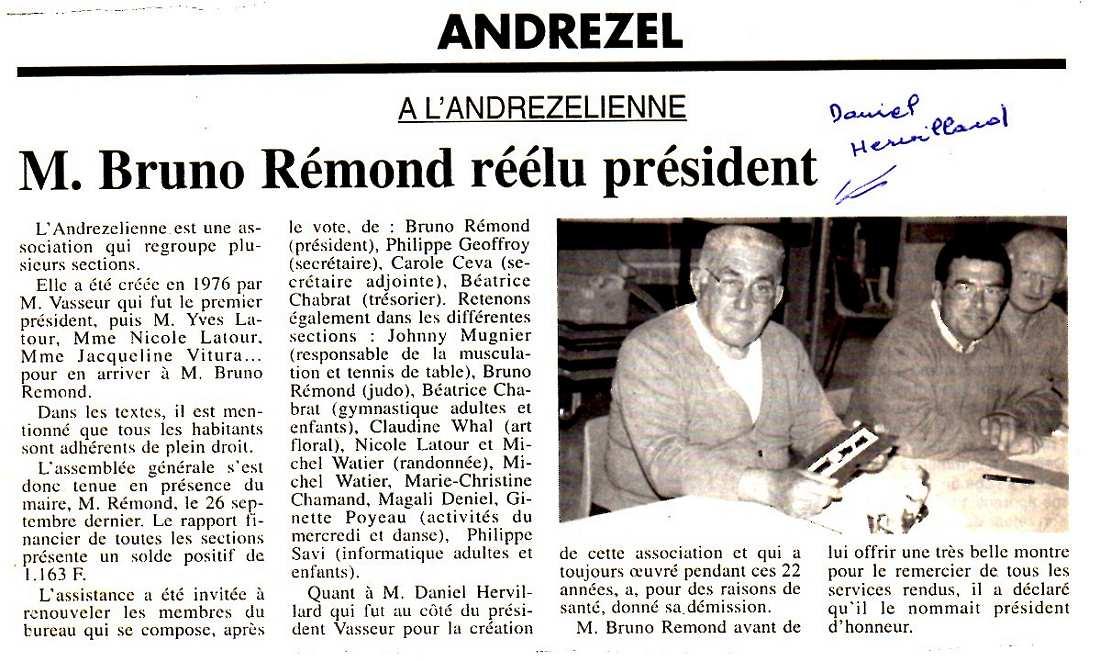Andrezelienne 1998