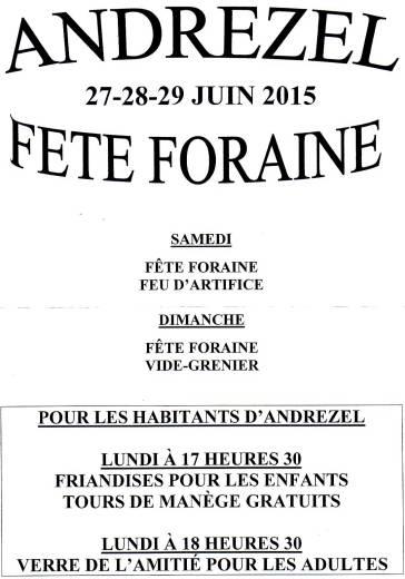 F foraine 2015