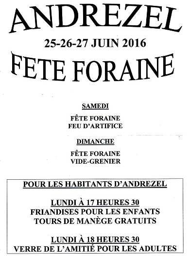 F foraine 2016