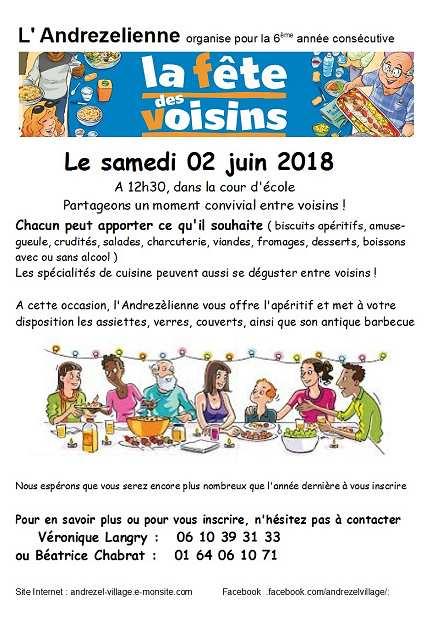 Voisins 2018 site